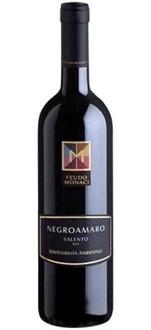 Вино Feudo Monaci, Negroamaro, Salento IGT, 2018, 0.75 л