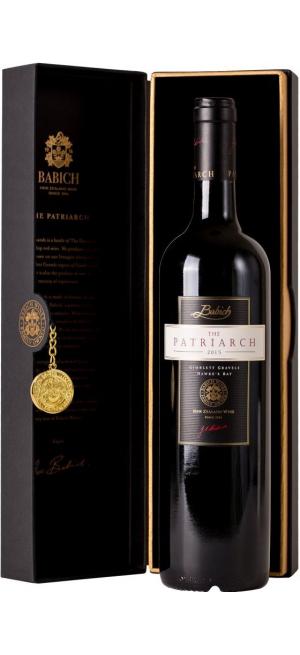 Вино Babich Wines, The Patriarch, Hawke's Bay, 2015, gift box, 0.75 л