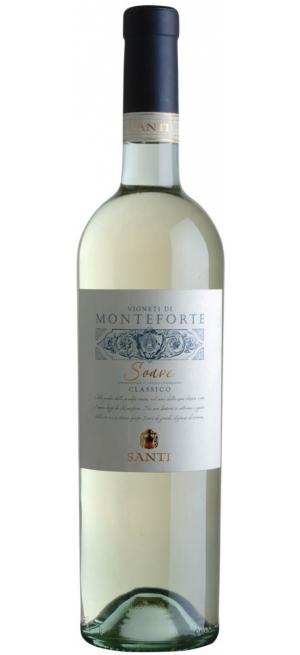 """Вино Santi, """"Vigneti di Monteforte"""" Soave Classico DOC, 2017, 0.75 л"""