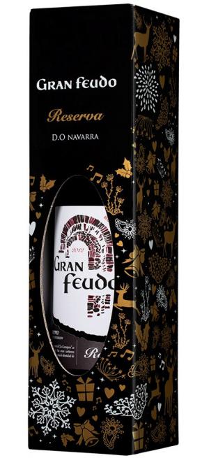 "Вино ""Gran Feudo"" Reserva, Navarra DO, 2012, gift box, 0.75 л"