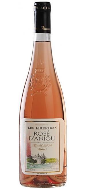 "Вино ""Les Ligeriens"" Rose d'Anjou AOC, 2015, 0.75 л"