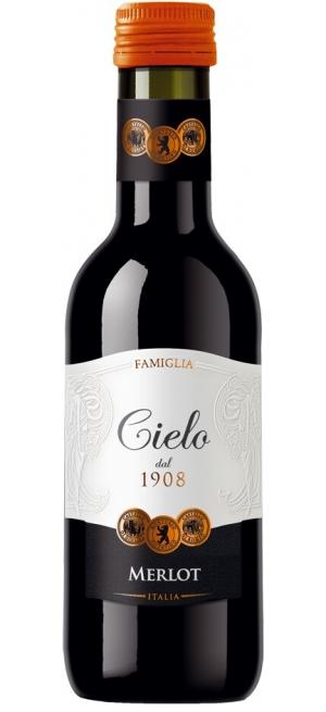 Вино Cielo e Terra, Merlot IGT, 2018, 187 мл