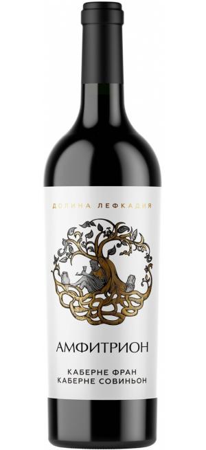 "Вино ""Амфитрион"" Каберне Фран-Каберне Совиньон, 0.75 л"