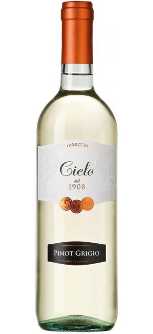 Вино Cielo e Terra, Pinot Grigio IGT, 2018, 0.75 л