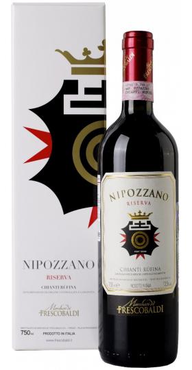 """Вино """"Nipozzano"""" Chianti Rufina Riserva DOCG, 2014, gift box, 0.75 л"""