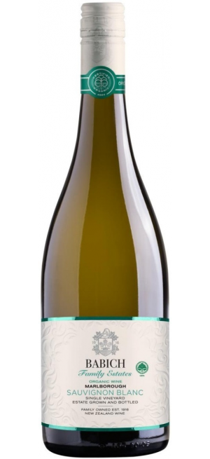 "Вино Babich Wines, ""Family Estates"" Headwaters Organic Sauvignon Blanc, 2020, 0.75 л"
