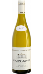 """Вино Georges Duboeuf, """"Domaine Les Chenevieres"""", Macon-Villages AOC, 2018, 0.75 л"""