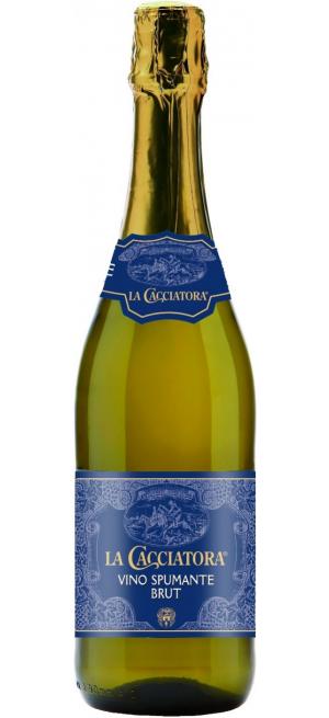 "Игристое вино ""La Cacciatora"" Vino Spumante Brut, 0.75 л"
