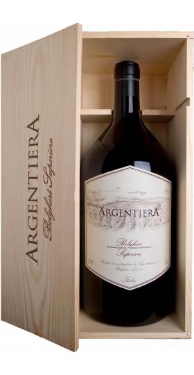 """Вино """"Argentiera"""" Bolgheri Superiore DOC, 2017, wooden box, 3 л"""