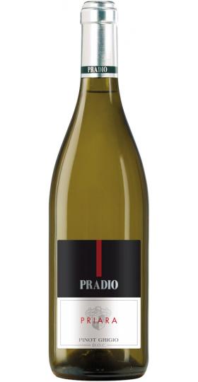 "Вино ""Priara"" Pinot Grigio, DOC Friuli Grave, 2018, 0.75 л"