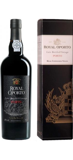 "Портвейн ""Royal Oporto"" LBV, Douro DOC, 2014, gift box, 0.75 л"