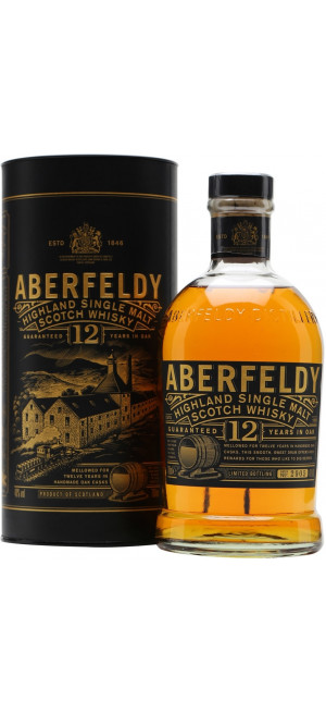 Виски Aberfeldy 12 Years Old, gift box, 0.7 л