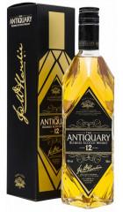 Виски The Antiquary 12 years old, gift box, 0.7 л