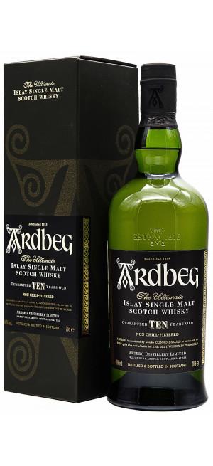 Виски Ardbeg 10 YO, 0.7 л