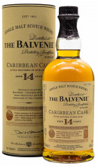 Виски Balvenie Caribbean Cask, 14 Years Old, in tube, 0.7 л