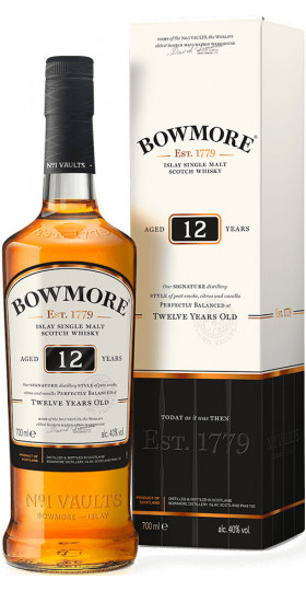 Виски Bowmore 12 Years Old, in gift box, 0.7 л