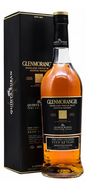 Виски Glenmorangie The Quinta Ruban, in gift box, 0.7 л