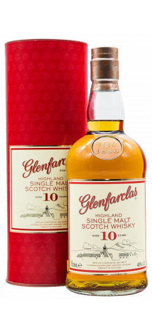 Виски Glenfarclas 10 years, In Tube, 0.7 л