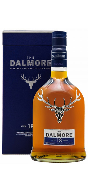 Виски Dalmore 18 Years Old, gift box, 0.7 л