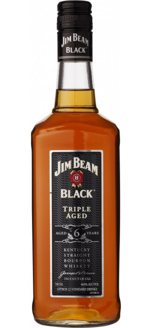"Виски Jim Beam Black ""Triple Aged"", 6 Years Old, 0.7 л"