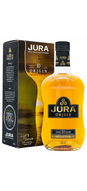 Виски Isle Of Jura 10 Years Old, gift box, 0.7 л