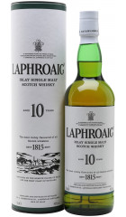 Виски Laphroaig Malt 10 years old, with box, 0.7 л