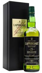 Виски Laphroaig 25 Years Old (45,1%), gift box, 0.7 л