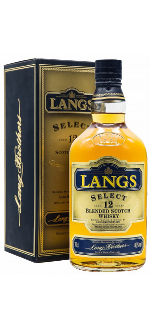 Виски Langs Select 12 Years Old, gift box, 0.7 л