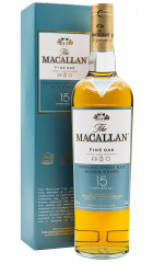 Виски Macallan Fine Oak 15 Years Old, with box, 0.7 л