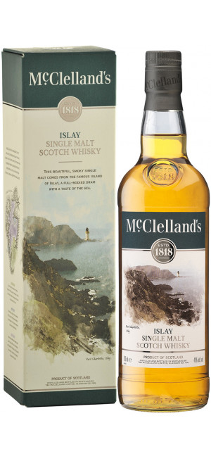 Виски McClelland's Islay, gift box, 0.7 л