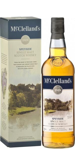 Виски McClelland's Speyside, gift box, 0.7 л