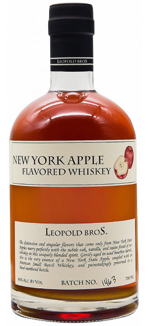 Виски Leopold Bros., New York Apple, 0.7 л