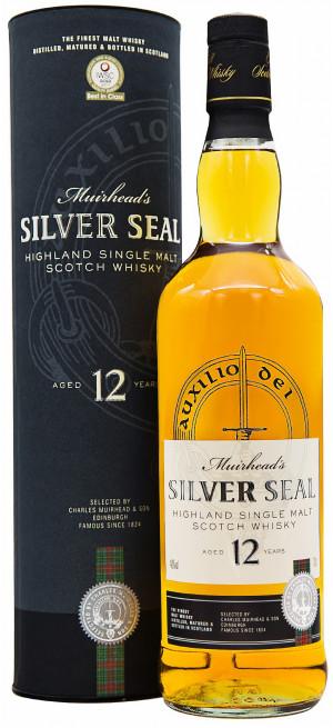 Виски Muirhead's Silver Seal 12 Years Old, gift tube, 0.7 л