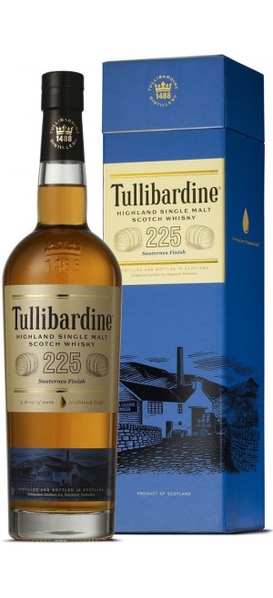 Виски Tullibardine, 225 Sauternes Finish, gift box, 0.7 л