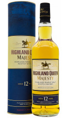 Виски Highland Queen Majesty, 12 years old, in tube, 0.7 л