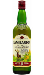 Виски Sam Barton Canadian Whisky 5YO, 0.7 л