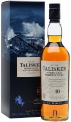 Виски Talisker malt 10 years old, with box, 0.75 л