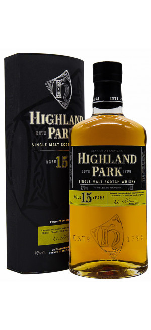 Виски Highland Park 15 Years Old, with box, 0.7 л
