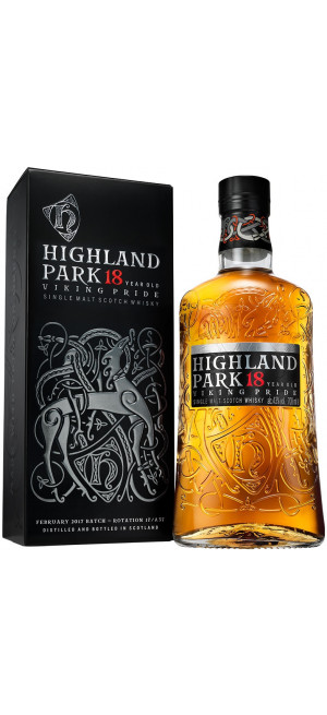 Виски Highland Park 18 Years Old, with box, 0.7 л
