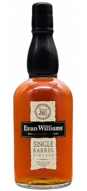 Виски Evan Williams Single Barrel Vintage, 2008, 0.75 л