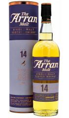 Виски Arran 14 years, in tube, 0.7 л