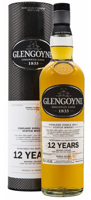 "Виски ""Glengoyne"" 12 Years Old, gift box, 0.7 л"