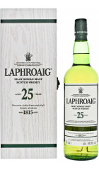 Виски Laphroaig 25 Years Old (48,9%), gift box, 0.7 л