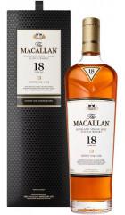 "Виски Macallan ""Sherry Oak"" 18 Years Old, gift box, 0.7 л"