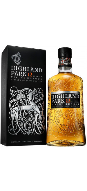 "Виски Highland Park, ""Viking Honour"" 12 Years Old, with box, 0.7 л"