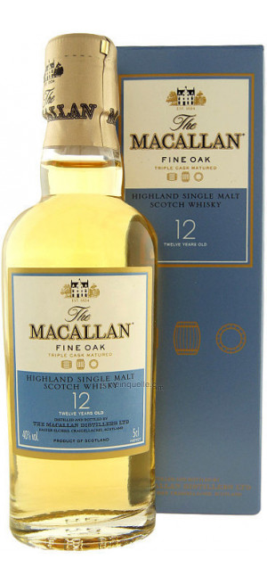 "Виски Macallan, ""Triple Cask Matured"" 12 Years Old, gift box ""Limited Edition"", 0.05 л"