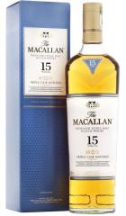 """Виски Macallan, """"Triple Cask Matured"""" 15 Years Old, gift box, 0.7 л"""