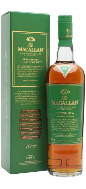 "Виски ""The Macallan"" Edition №4, gift box, 0.7 л"