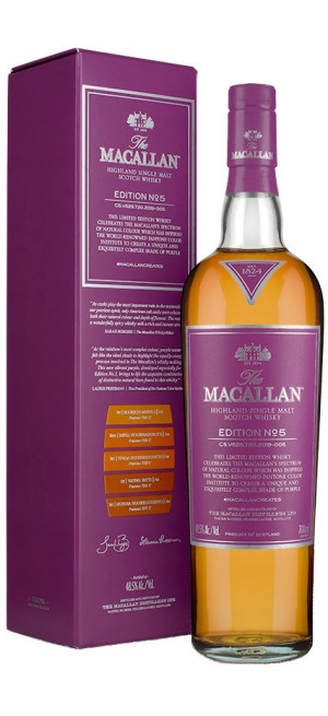 "Виски ""The Macallan"" Edition №5, gift box, 0.7 л"