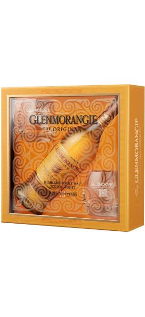 Виски Glenmorangie The Original with 2 glasses in gift box, 0.7 л